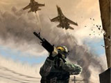 Shooting game Battlefield 2