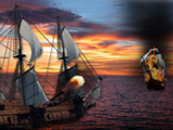 Online game Galleon Fight